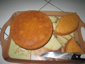 butter cake pemula