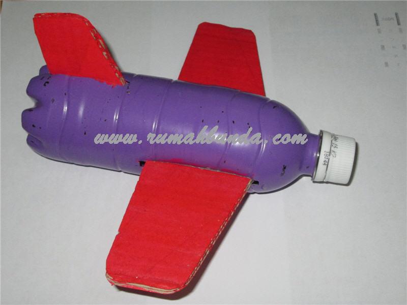 Pesawat Terbang Dari Botol Plastik Bekas Rumah Bunda